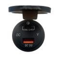 Poly-Planar Panel Mount USB Charging Ports - 12V [USB-PM2]