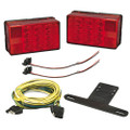 "Wesbar 4"" x 6"" LED Trailer Light Kit [407560]"