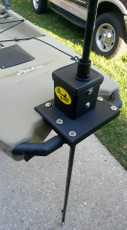 River Stick Mounted on Pro Angler 14