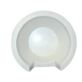 "Poly-Planar 11"" Speaker Back Cover - White [SBC-3]"