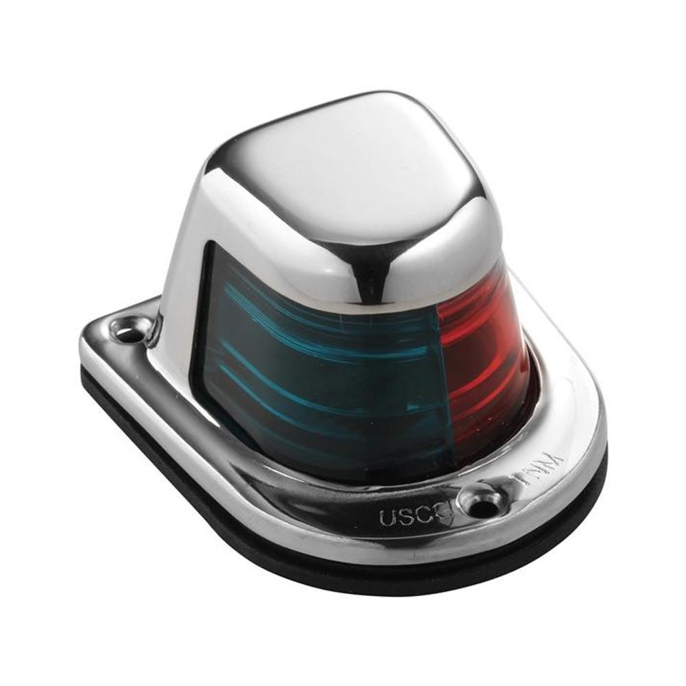 New Quasar Bi-color Light attwood Marine 3120-7 Black Housing