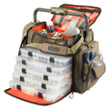 Wild River FRONTIER Lighted Bar Handle Tackle Bag w\/5 PT3700 Trays [WT3702]