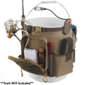 Wild River RIGGER 5 Gallon Bucket Organizer w\/Light, Plier Holder & Retractable Lanyard [WL3506]