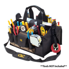 """CLC 1529 16"""" Center Tray Tool Bag [1529]"""