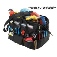"CLC 1535 18"" Tool Bag w\/ Top-Side Plastic Parts Tray [1535]"