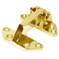 "Whitecap Standard Hatch Hinge - Polished Brass - 2-5\/8"" x 3-1\/8"" [S-990BC]"