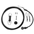 Rupp Center Rigging Kit w\/Klickers - Black Mono 45' [CA-0113-MO]