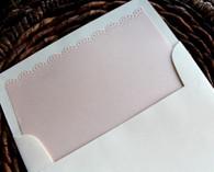 doily edge envelope liners