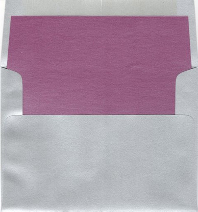 A6 Square Flap Metallic Envelope liner
