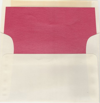 A8 Metallic Envelope Liners