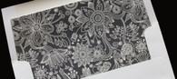 Patterned Envelope Liner - flower envelope liner