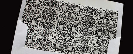 Damask Envelope Liners