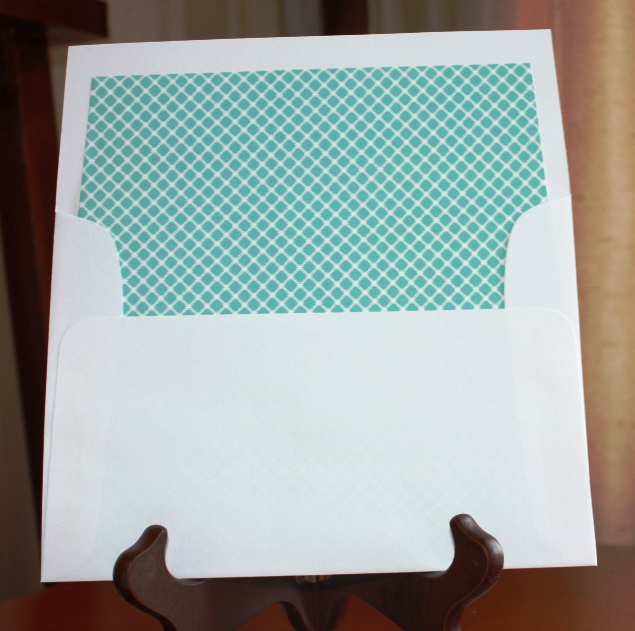 Tiffany Blue Envelope Liners