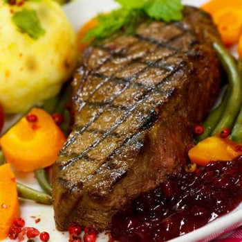 Gourmet Kansas City Strip Sirloins - These ALL NATURAL beauties are cut from specially selected, high yield USDA Choice Beef Strip Loins, then naturally aged to ensure great flavor and tenderness.