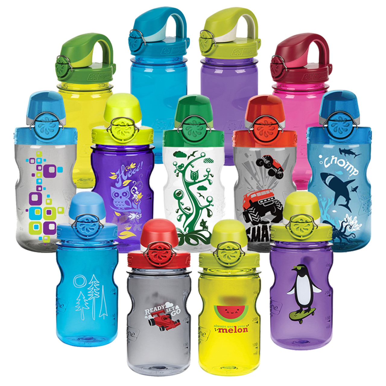 Nalgene Kids Otf Water Bottle Mudd Creek
