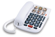 SMPL Amplified Hands-Free Dialing Photo Phone for Seniors
