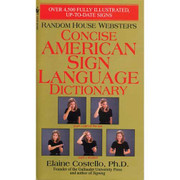 Concise Pocket ASL American Sign Language Dictionary