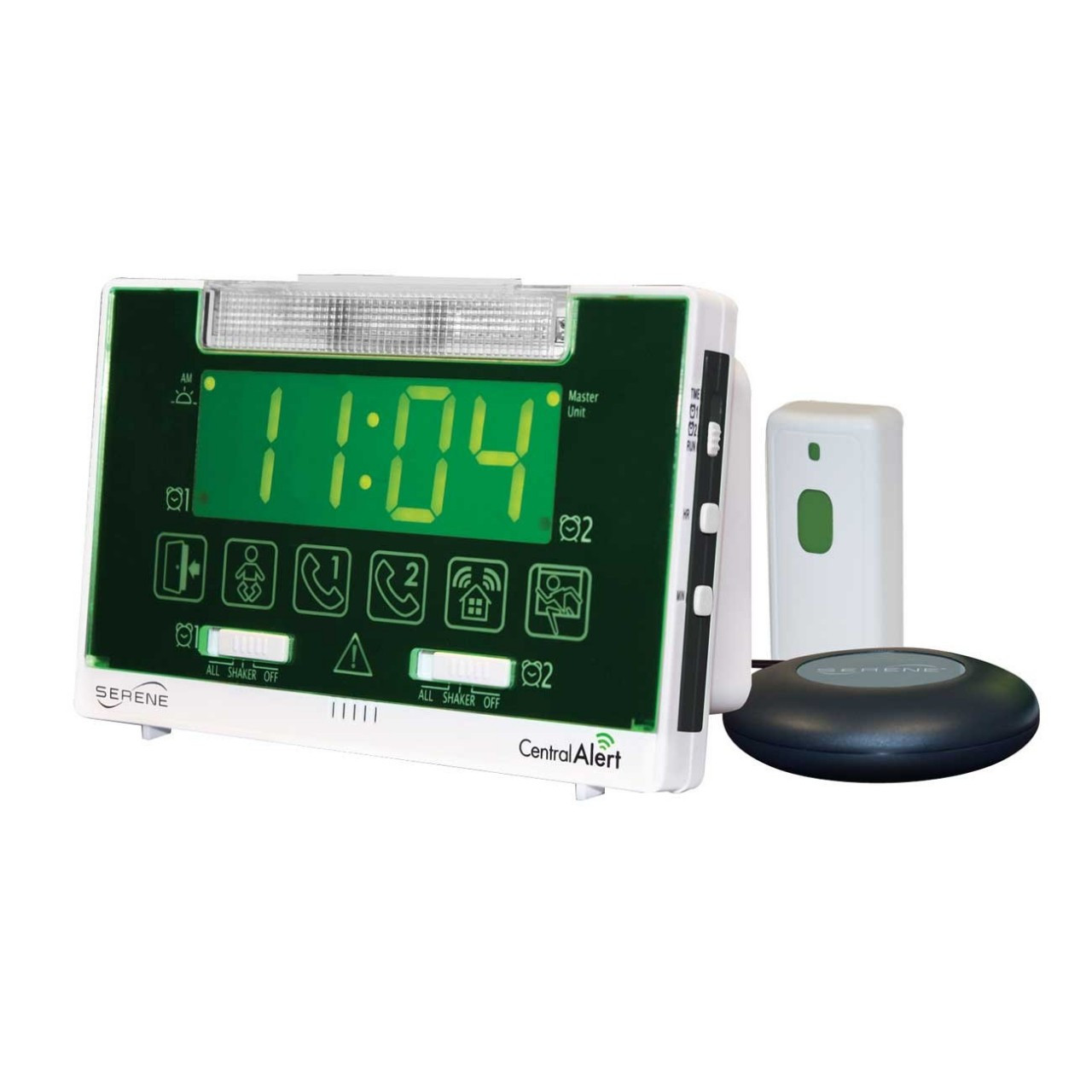 a05004c84 CentralAlert CA360 Door Phone Clock Notification System Master Unit.  Loading zoom