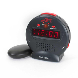 Sonic Bomb Jr Bed Shaker Alarm Clock