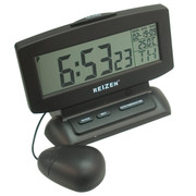 Reizen LCD Display Bed Shaker Talking Clock