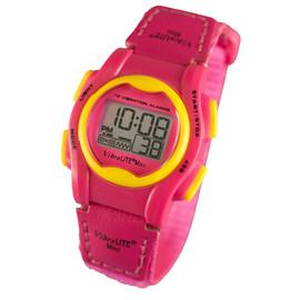 VibraLITE Mini Children Vibrating Hot Pink Watch