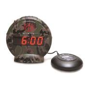 Sonic Alert Bunker Bomb SBC575SS Dual Alarm Clock