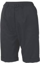 4551 - Ladies Permanent Press Flat Front Shorts