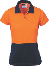 3897 - 175gsm Ladies HiVis Polo, S/S