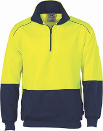 3928 - 300gsm HiVis Reflective Piping Sweater