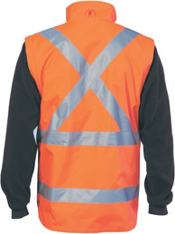"""3990 - 200D """"4 in 1""""  Vest w/Tape on Back & Tail"""