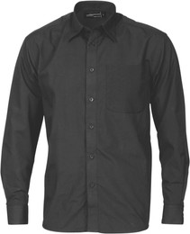 4132 - 100gsm Poly Cotton Business Shirt, L/S