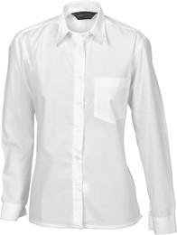 4202 - Polyester Cotton Ladies Poplin Shirt, L/S