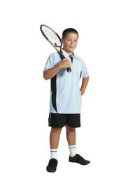 5228 - Kids Cool-Breathe Side Panel Polo Shirt