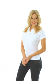 5258 - Ladies Cotton Rich New Yeork Polo