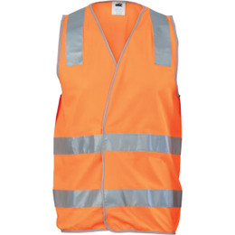 3503 Day/Night Safety Vest with Hoop & Shoulder Generic R/Tape