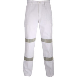 3361 - DOUBLE HOOPS TAPED CARGO PANTS.