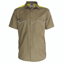3581 - RipStop Cool Cotton Tradies Shirt, S/S