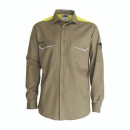 3582 - RipStop Cool Cotton Tradies Shirt, L/S