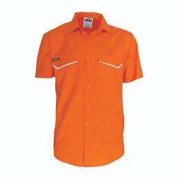 3583 - HiVis RipStop Cotton Cool Shirt, S/S