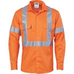 3546 - Cotton Shirt X Back CSR T L/S