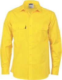 3208 - Cool-Breeze Work Shirt w/Vents, L/S