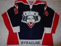 Syracuse Crunch 2006-07 Blue Ryan Caldwell Nice Style!!