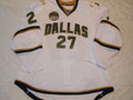 Dallas Stars 2012-13 White Aaron Rome with/20 Anniversary Patch!!
