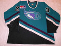 Danville Wings 1998-99 Teal Ryan Rogers Nice Wear!!