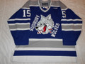 Sudbury Wolves 1998-99 Blue Kevin Beaumont Great Style!!