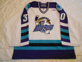 Orlando Solar Bears 1998-99 White Maxime Gingras Great Style!!
