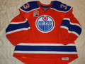 Edmonton Oilers 2016-17 Alternate Cam Talbot Inaugural Patch Nice Wear Photomatched!!