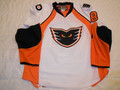 Adirondack Phantoms 2012-13 White Mike Testwuide Nice Style!!