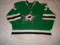 Dallas Stars 2013-14 Green Valeri Nichushkin Nice Wear Repairs!!