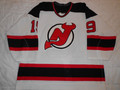 New Jersey Devils 1997-98 White Bobby Carpenter Playoff Custom Sleeves!!!!